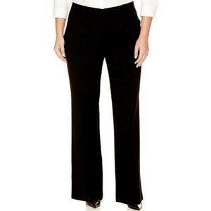 🌮 Worthington Black Stretch Wide Leg Dress Pants